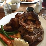 Fantastic Sunday lunch