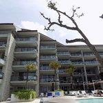 Hotel from the beach veiw