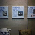 Types of Fertilizers Display
