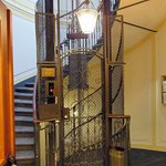 The lift inside Hotel Manfredi!