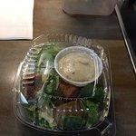 Pathetic salad....