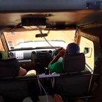 """Ombretta e """"Schetti"""" durante il Safari Fotografico"""
