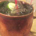 Moscow Mule, By-Th'-Bucket Bar and Grill, Santa Clara, Ca