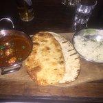 tasty curry (pretty warm!)