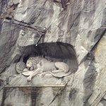 Foto di Monumento del leone morente di Lucerna