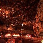 Interior of McGuire's Pub in Destin Florida.