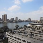 View of the Nile River from the room.