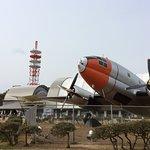 公園内には飛行機の展示が多い