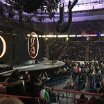 Garth Brooks concert, from Section 106, Row F, seats 13-14