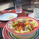 Wonderful fruit bowl starter!