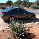 Our BMW rental card