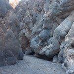 Titus Canyon rock walls