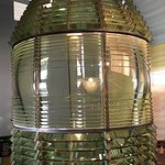First-order Fresnel lens at Key West lighthouse museum