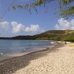 playa vista sobre la derecha