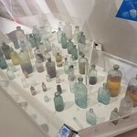 Recovered from the ship's pharmacy - castor oil, quinine, sulfur, iron, zinc chloride ...