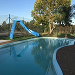 Slide into the upgraded Pool area
