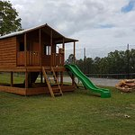 Newly installed Kids Cubby House