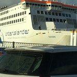 The Interislander Ferry, Wellington Nz.