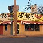 """Arnie's Dog House - """"Where man bites dog!"""""""