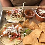 Fisherman's stew & fried fish tacos