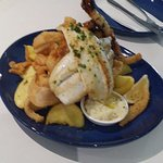 Mixed seafood (big enough for two to share)