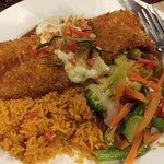 Pan crusted fish