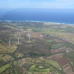 View from Makani Kai Helicopter tour