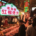 Various kinds of delicious food. I would pick places that there are a lot of people, a good indi