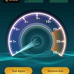 Internet speed test 7 am
