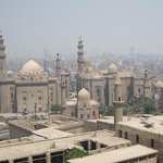 Cairo skyline from the terrace