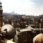 Guided city walk around the streets of Cairo and climbing a turret in the City of a Thousand Tur