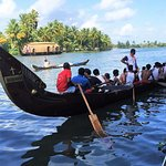 Enjoy the backwaters --- on the backwaters