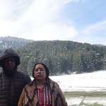 At Khajjiar lake