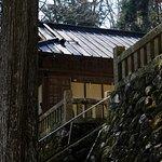 旭滝:大平神社の石垣