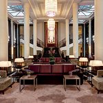 Main Lobby of Corinthia Hotel St Petersburg
