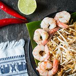 Pad Thai Prawns from Choc Dee