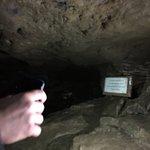 Inside limestone cave near luxmore hut