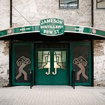 Jameson Distillery Bow St. Front Doors