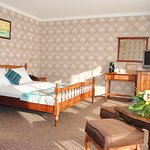 double bed on the executive floor