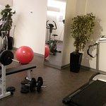 Salle de fitness, sous-sol de l'annexe