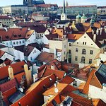 Overlooking Mala Strana from the Lesser Town Tower