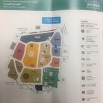 Marina Bay Sands - Casino map for easy navigation to find favourite games.
