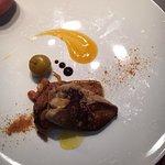 Foie gras poêlé pomme au calvados...miam!!!