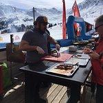 Barbecue en terrasse ... le PIED