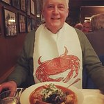 Ready to dig into Cioppino....was delicious!