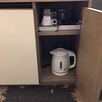 kettle and drinking amenities