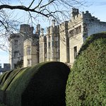 Castle from walled garden.