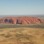 As you approach Ayers Rock