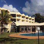 Pool, sea view rooms