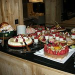A new dessert buffet each evening.